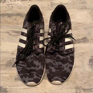 Adidas Neo sneakers 8 3 stripes black white